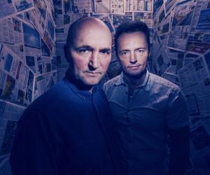 portrettfoto av to brødre